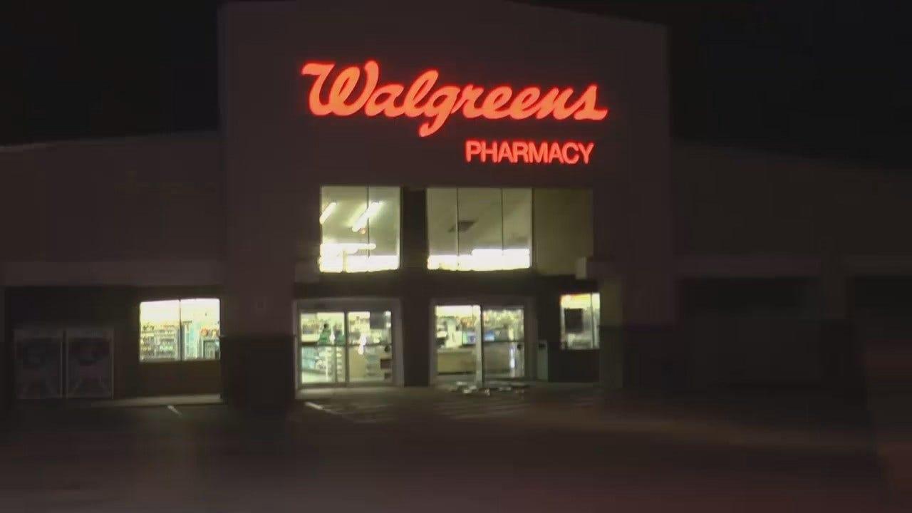 WEB EXTRA: Video From Scene Of A Tulsa Walgreens Store Burglary