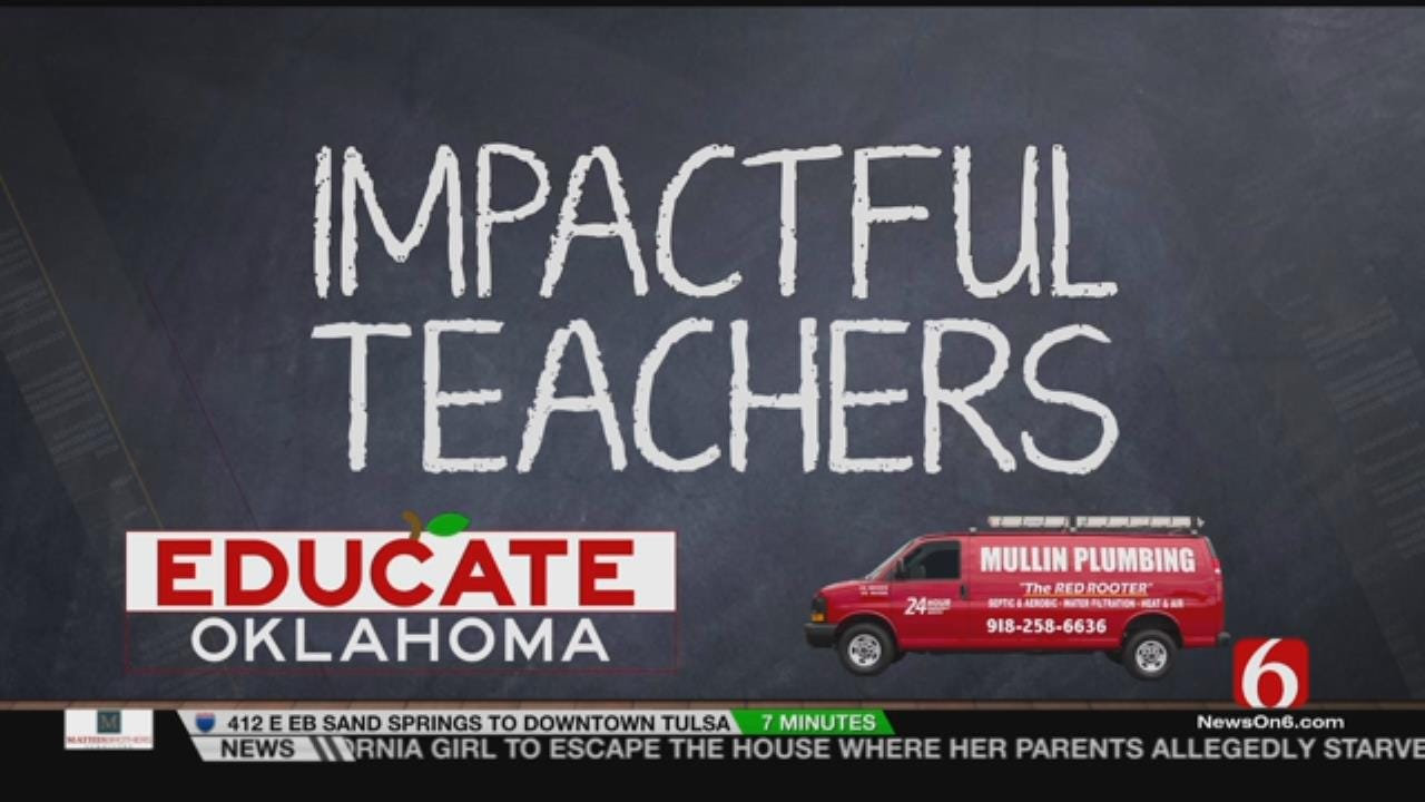 "Sand Springs School Counselor Recognized As An ""Impactful Teacher'"