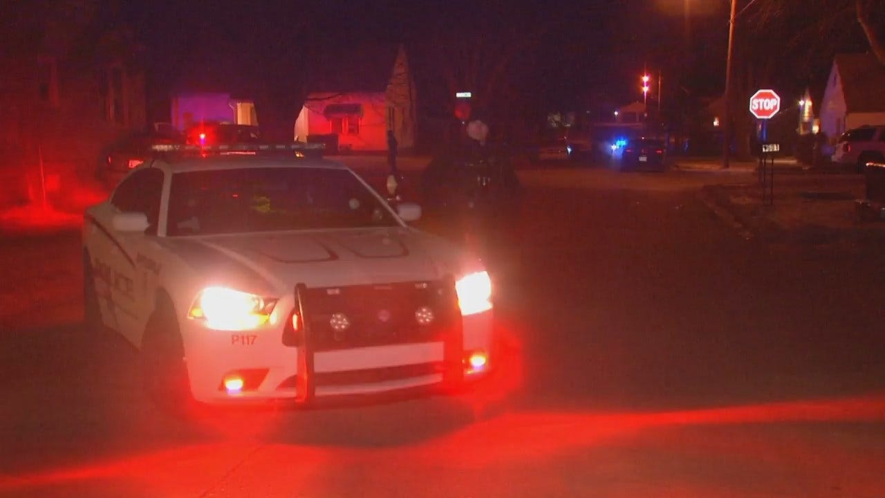WEB EXTRA: Video From Scene Of Bartlesville Police Shooting