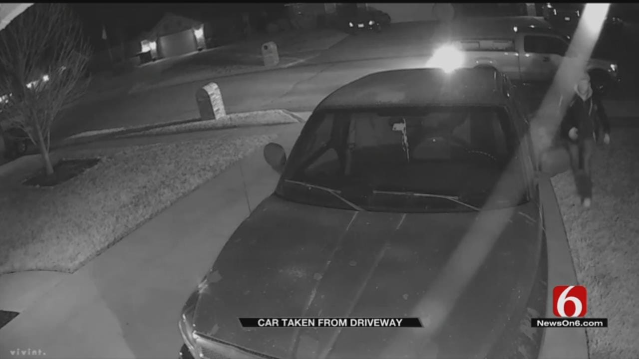 Owasso Man's Truck Stolen Within Minutes From Driveway