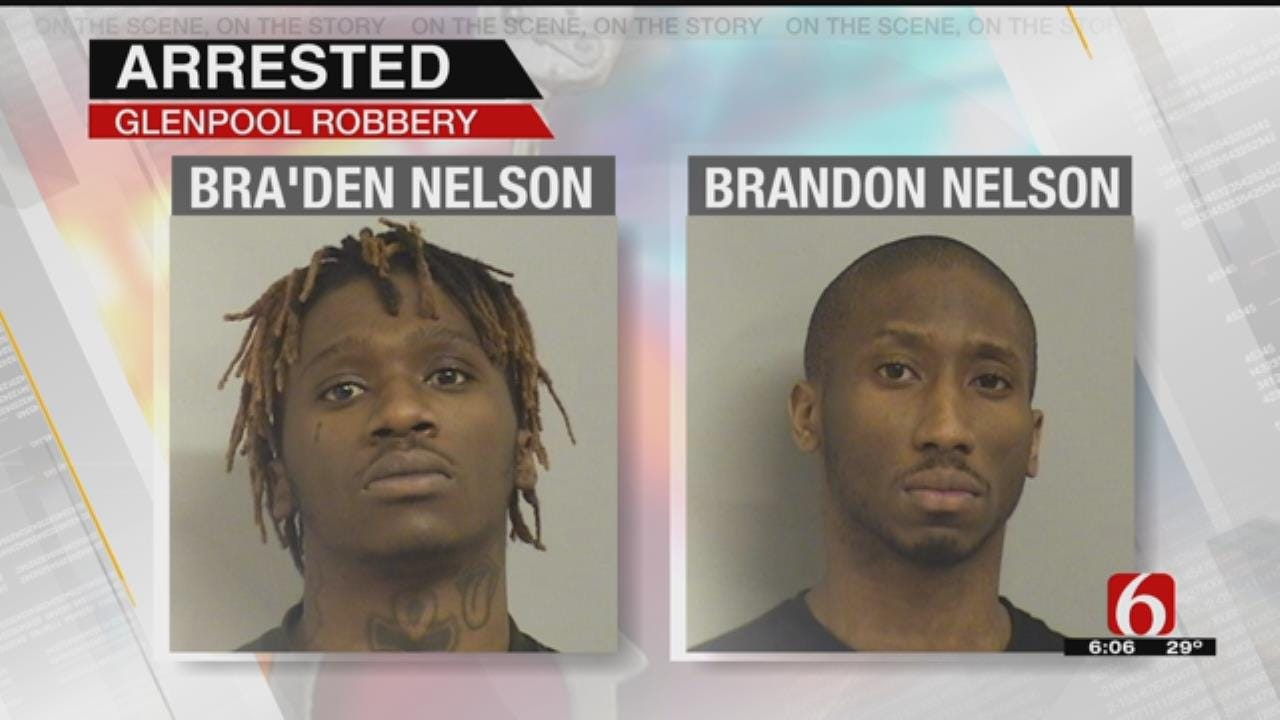 Glenpool Robbery, Burglary Suspects Face Charges