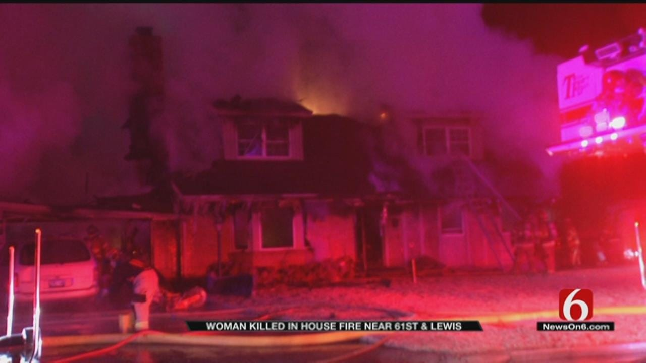 Neighbor Mourns Loss Of Friend Killed In Tulsa House Fire