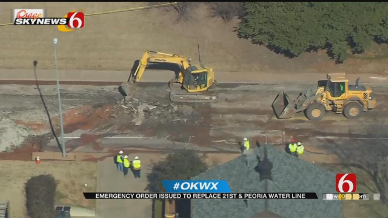 Emergency Order Issued To Replace Waterline At 21st And Peoria