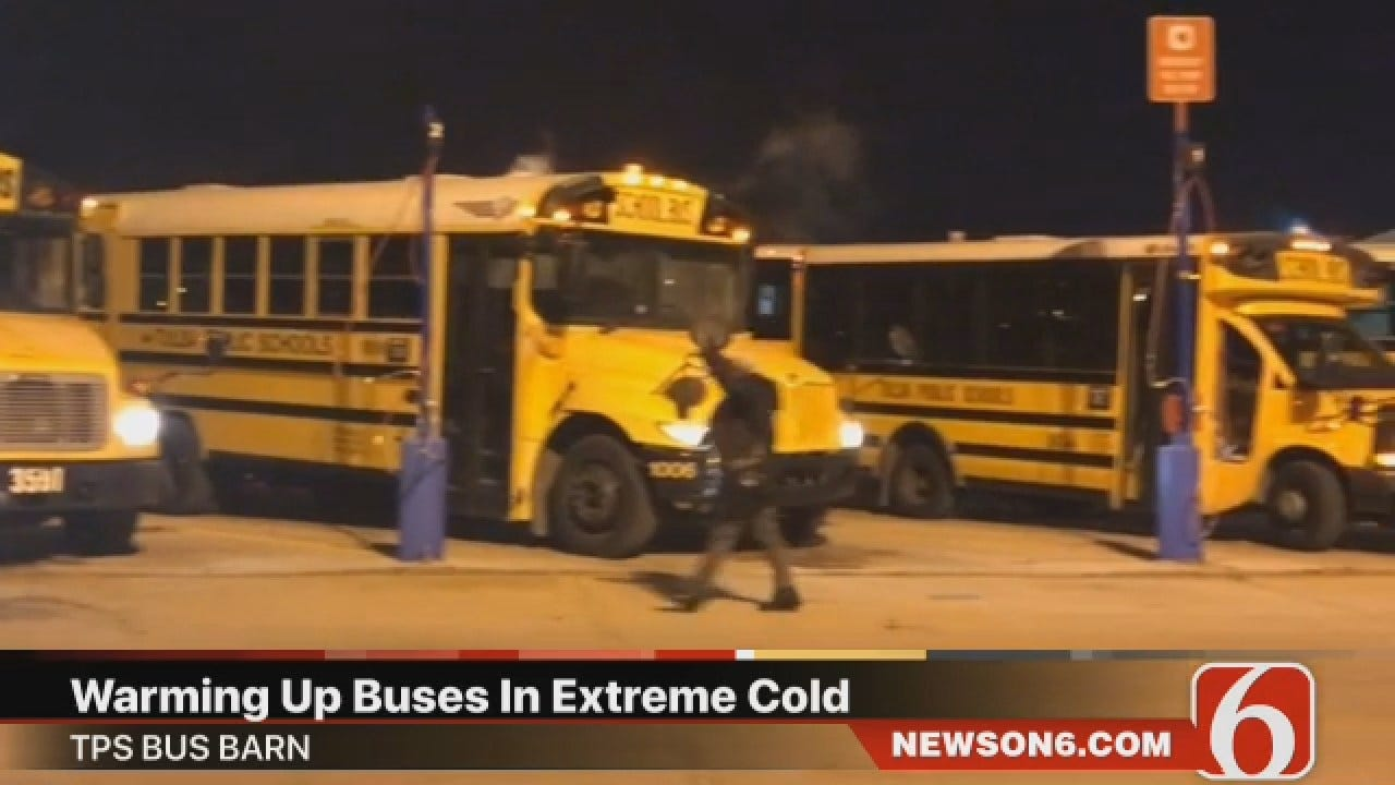 Joseph Holloway Says TPS Buses Warmed Up For Bus Routes