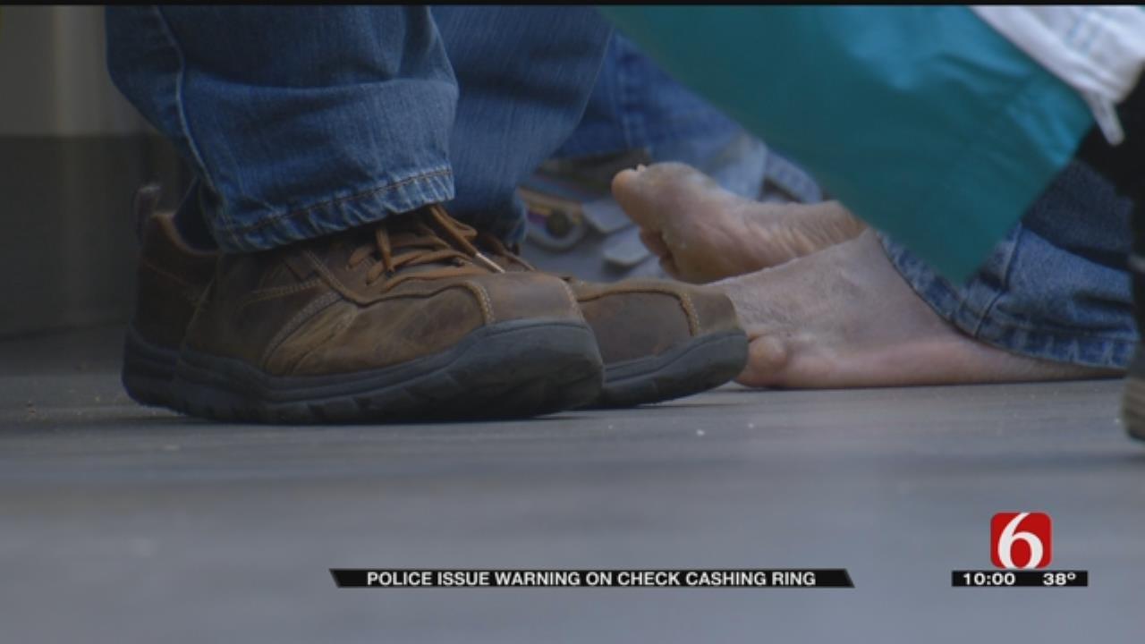 Check Cashing Ring Takes Advantage Of Tulsa Homeless, Police Say