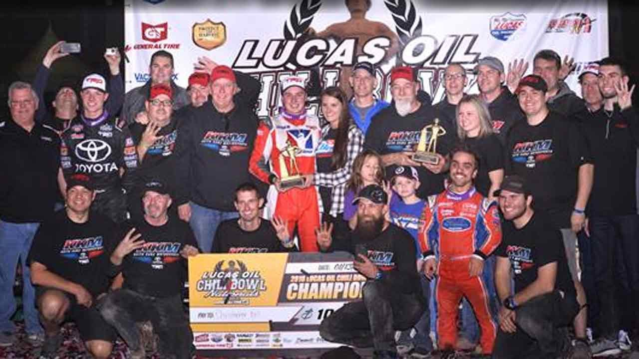 Christopher Bell Takes Second Chili Bowl Victory