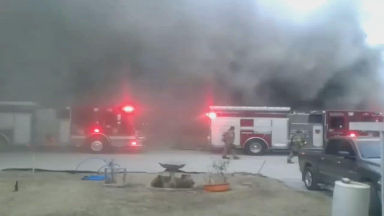 Amy Slanchik: Two Men Escape Tulsa House Fire