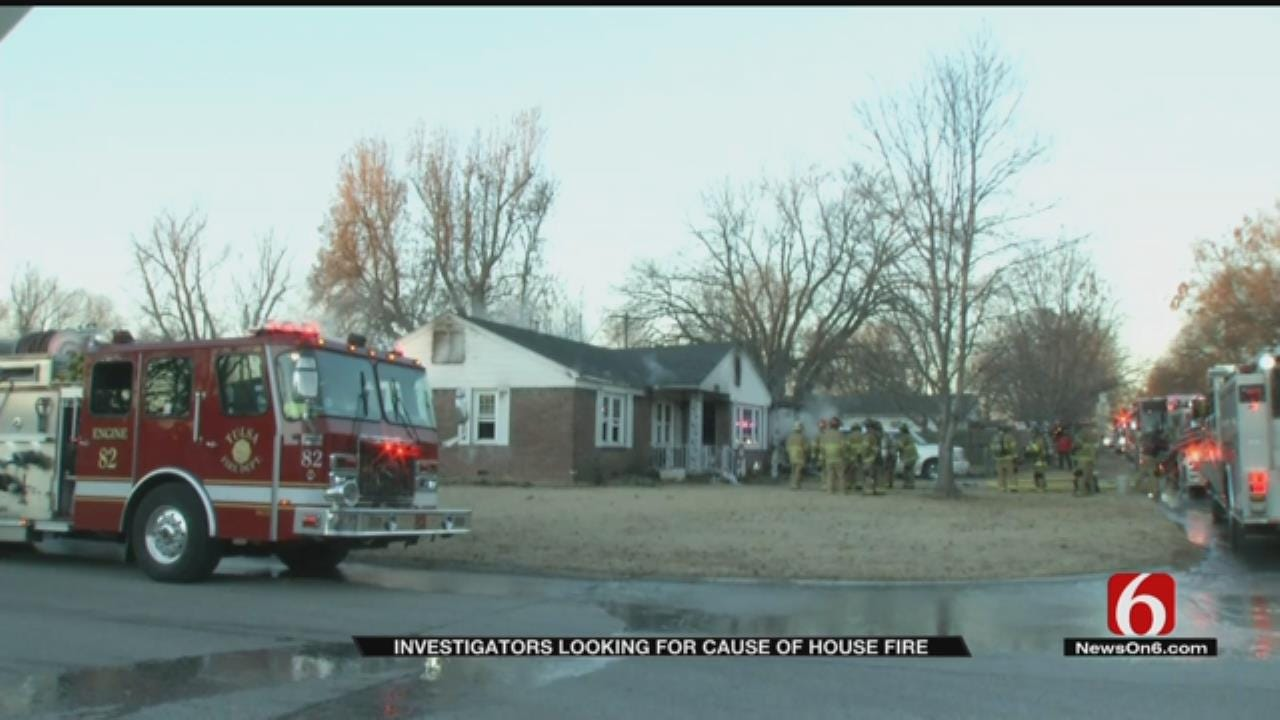 Woman Injured In Tulsa House Fire