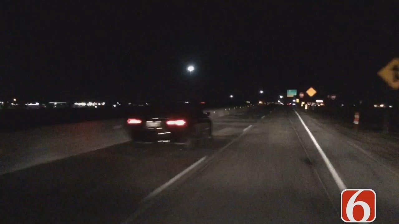 Dave Davis Reports On Tulsa Highway 169 Lane Changes
