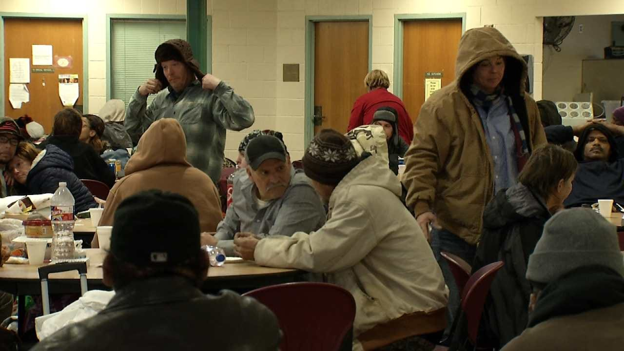 Tulsa Shelters Prepare For Max Capacity During Frigid Temps