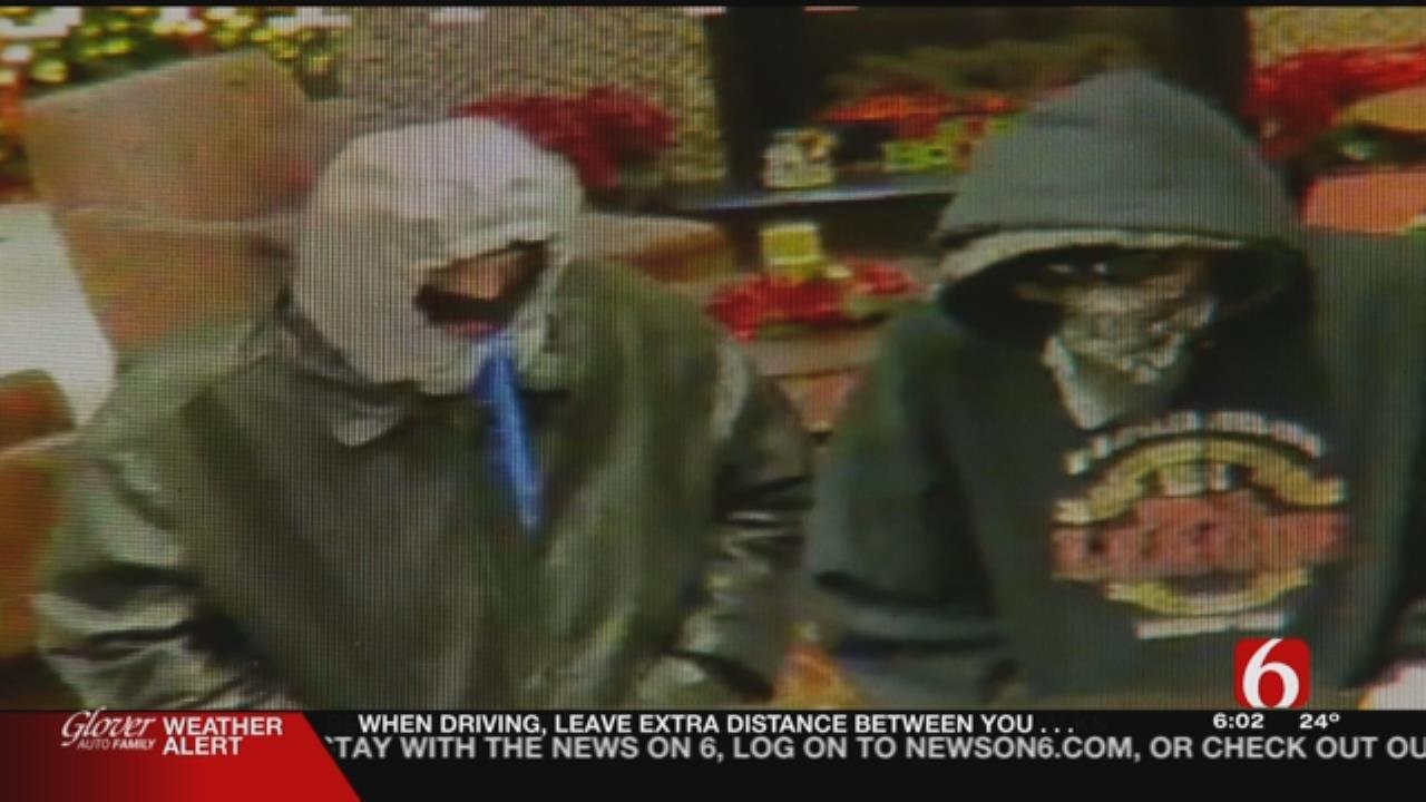 Surveillance Video Shows Hotel Robbery, Glenpool Police Say