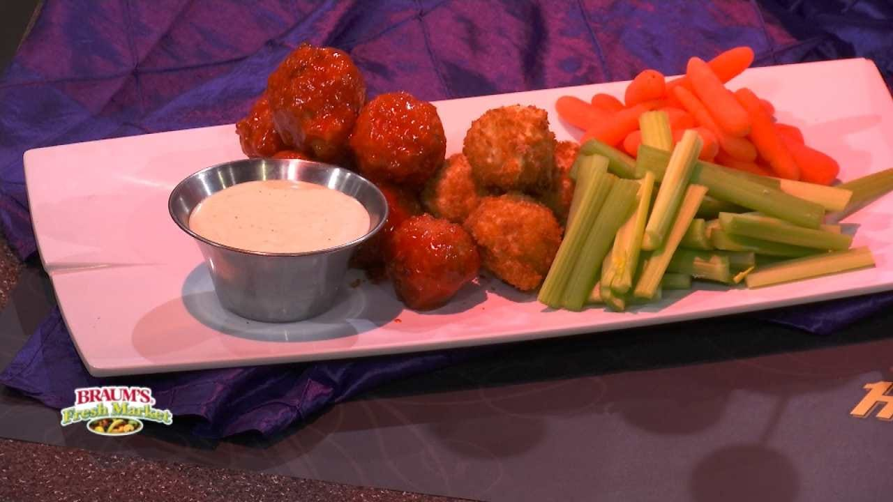 Buffalo Chicken And Cheese Bites