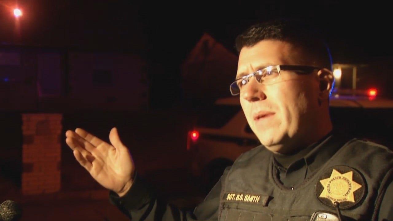 WEB EXTRA: Tulsa Police Sgt. Brandon Smith Talks About Shooting