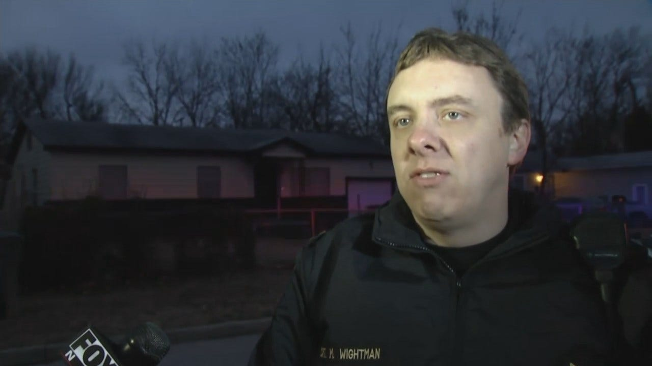 WEB EXTRA: Tulsa Captain Malcolm Wightman Talks About Stabbing