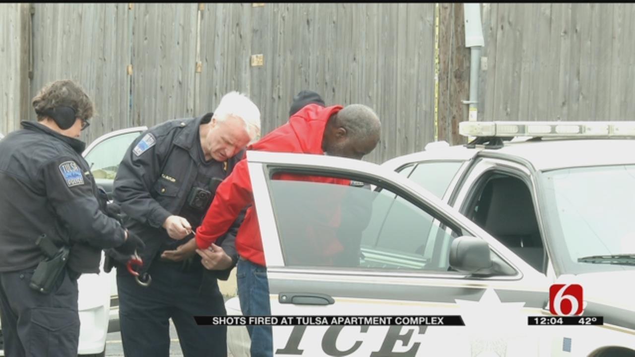Man Arrested For Firing Gun At Tulsa Apartment
