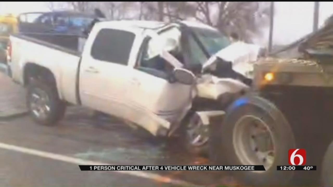 Fog Blamed For Muskogee Crash That Hurt 4 People