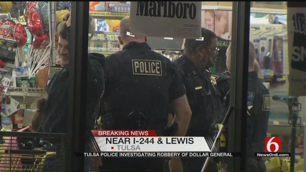 Tulsa Man Robs Dollar General With Shotgun, Police Say