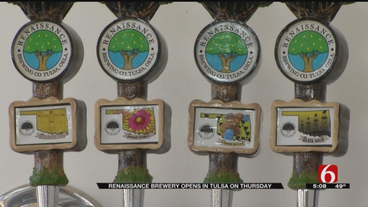 Tulsa's Renaissance Brewing Company To Open