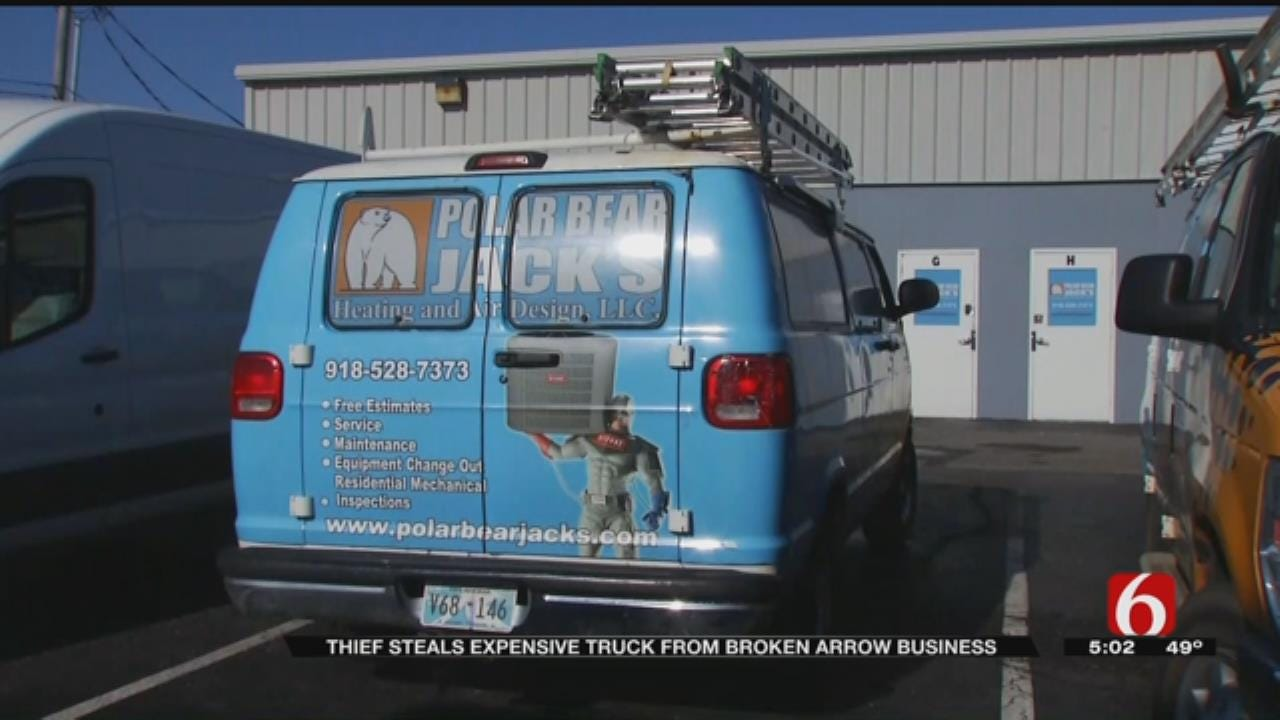 Expensive Equipment Stolen, Says BA Small Business Owner