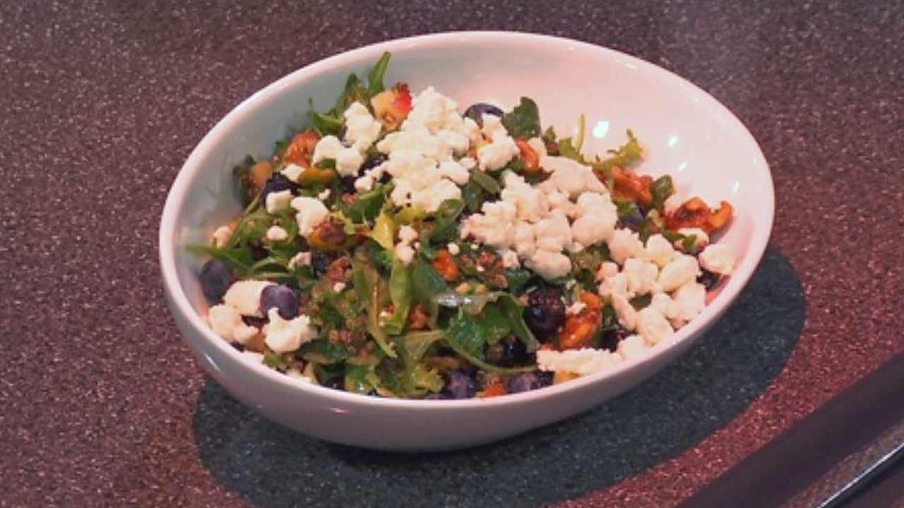 Kale, Arugula & Quinoa Super Salad