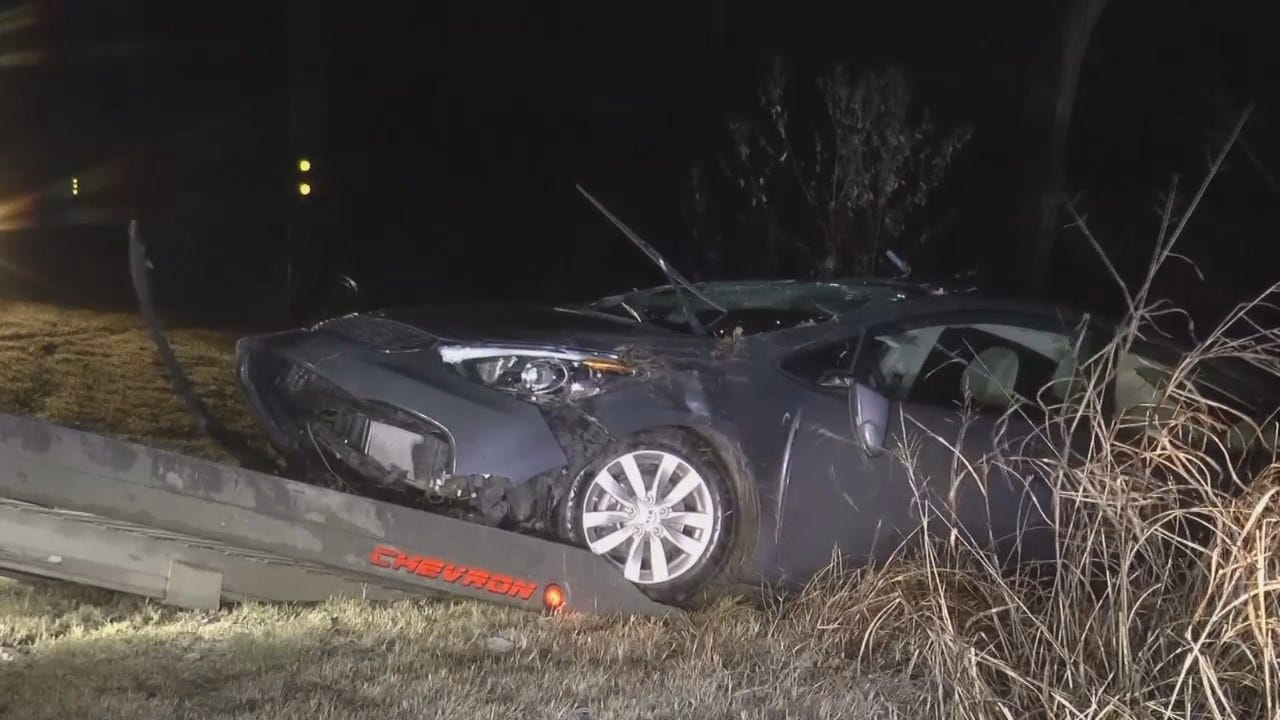 WEB EXTRA: Tow Truck Removing Wrecked Car
