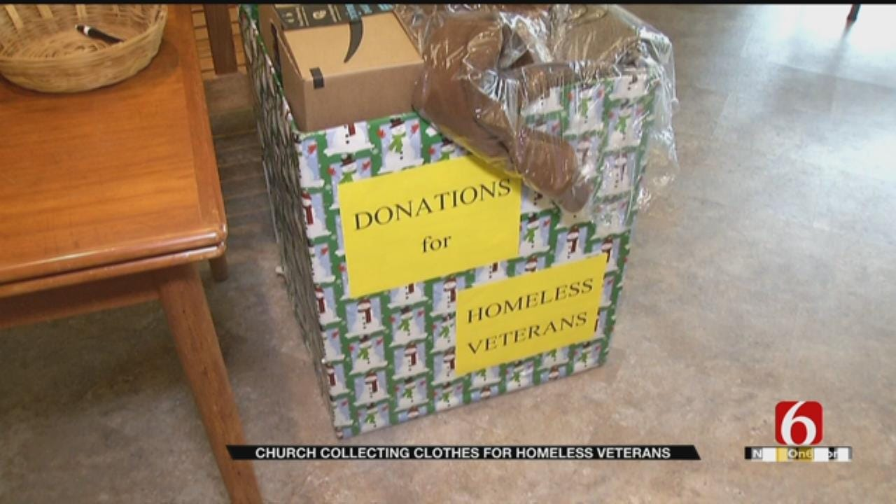 Tulsa Church Accepting Donations For Homeless Vets