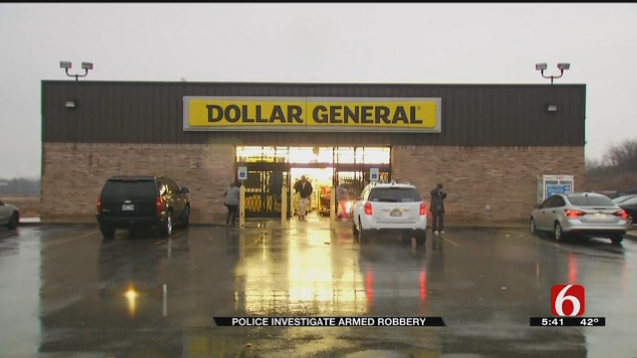 Tulsa Police Search For Dollar General Robbery Suspect