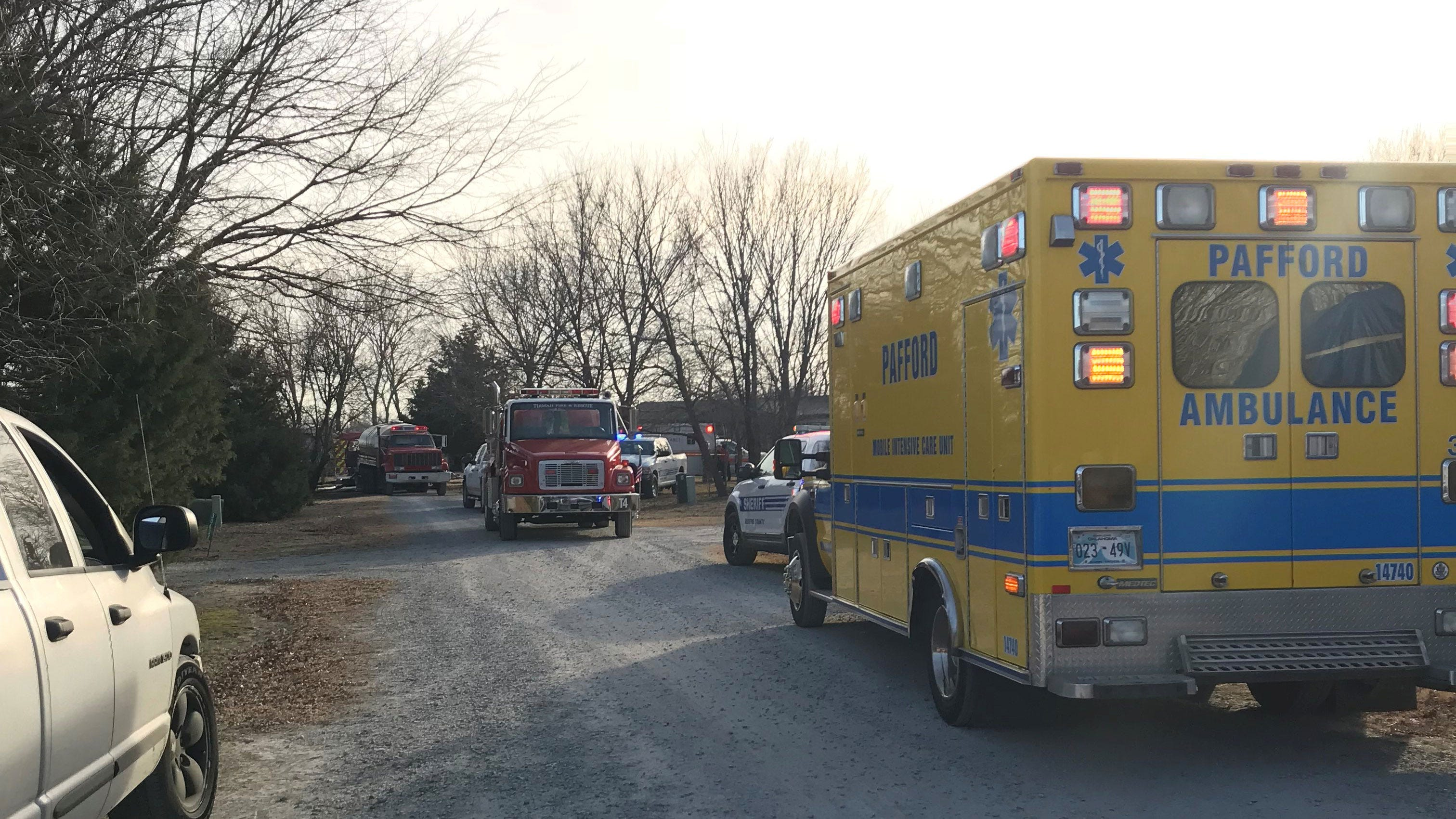 Inola Man Barricades Himself Inside Wife's Home, Set It On Fire