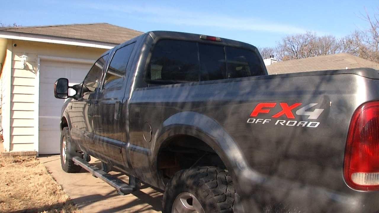 Neighbors Help Find Truck Stolen From Tulsa Couple