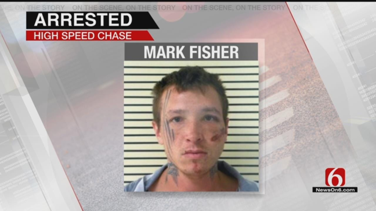 Man Arrested After Wagoner County High Speed Chase