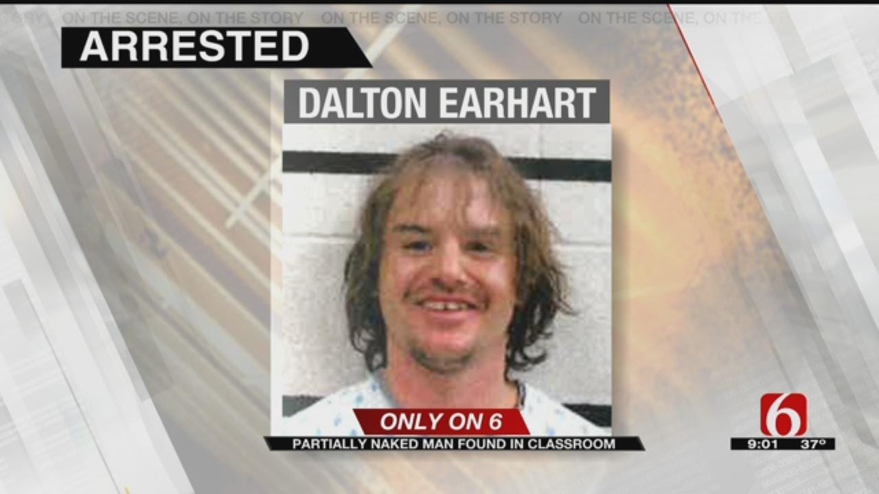 McAlester Teacher Walks Into Classroom To Find Man Wearing Only Loincloth