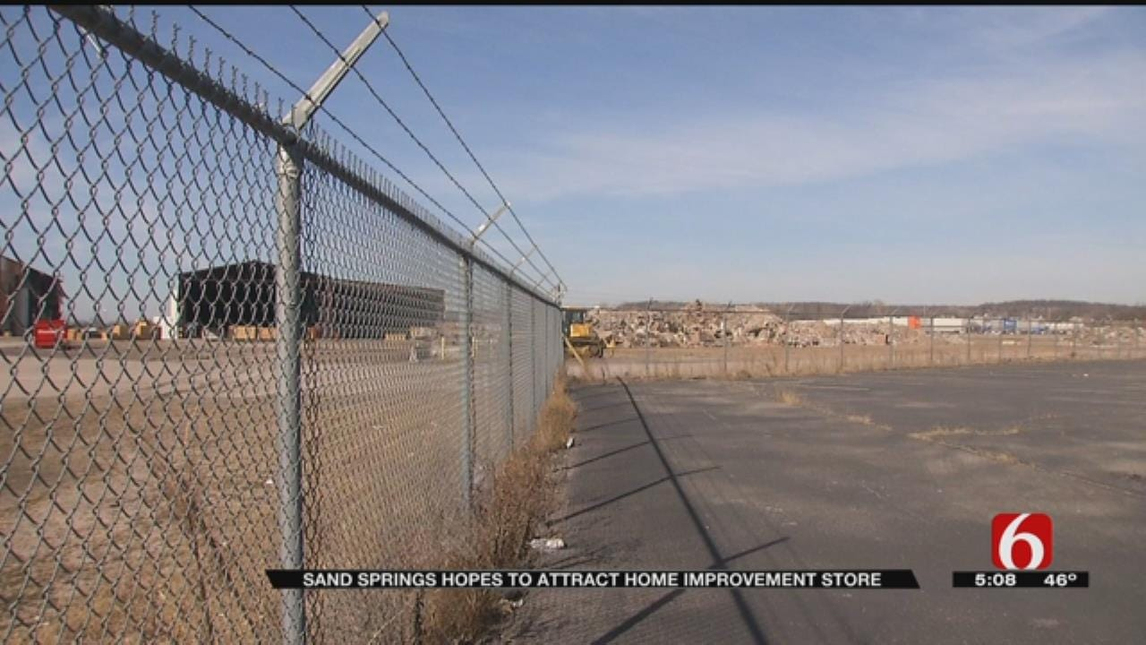Sand Springs Has Hopes For Vacant Property