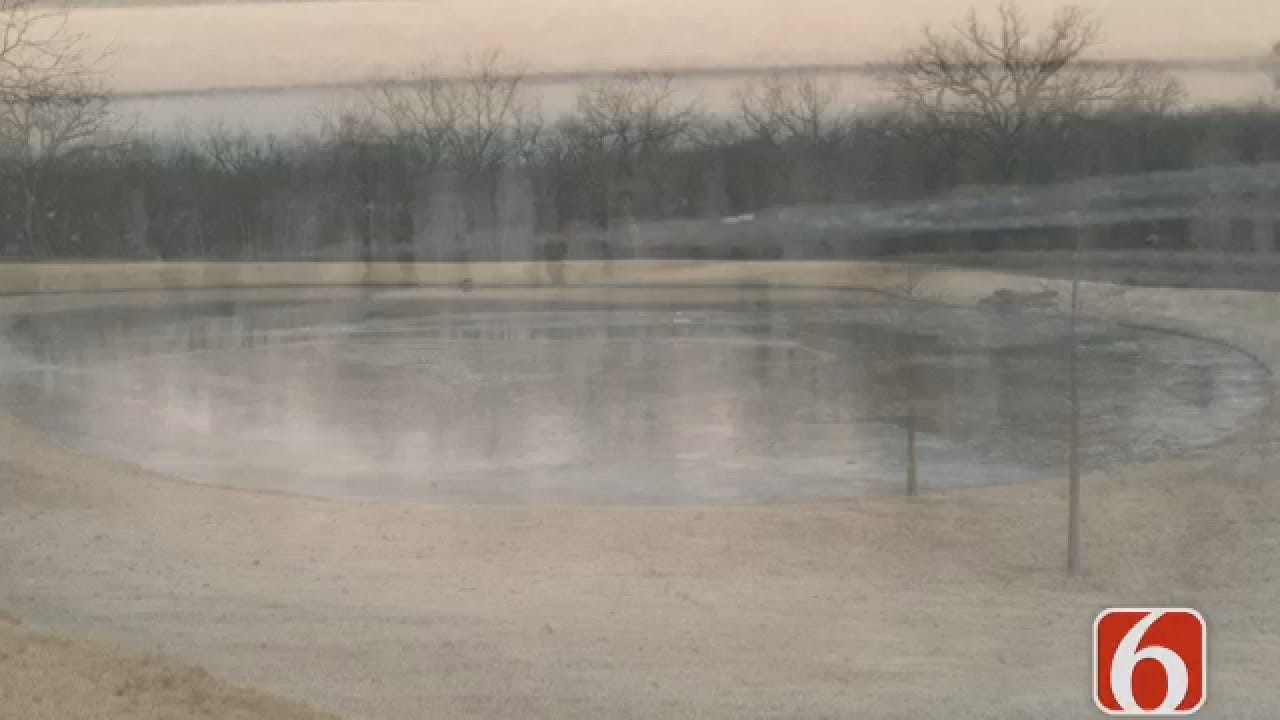 Joseph Holloway Reports On Body Recovered In Catoosa Pond