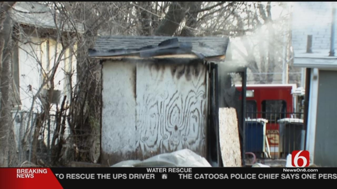 2 Bodies Found In Burned-Out Shed In Tulsa