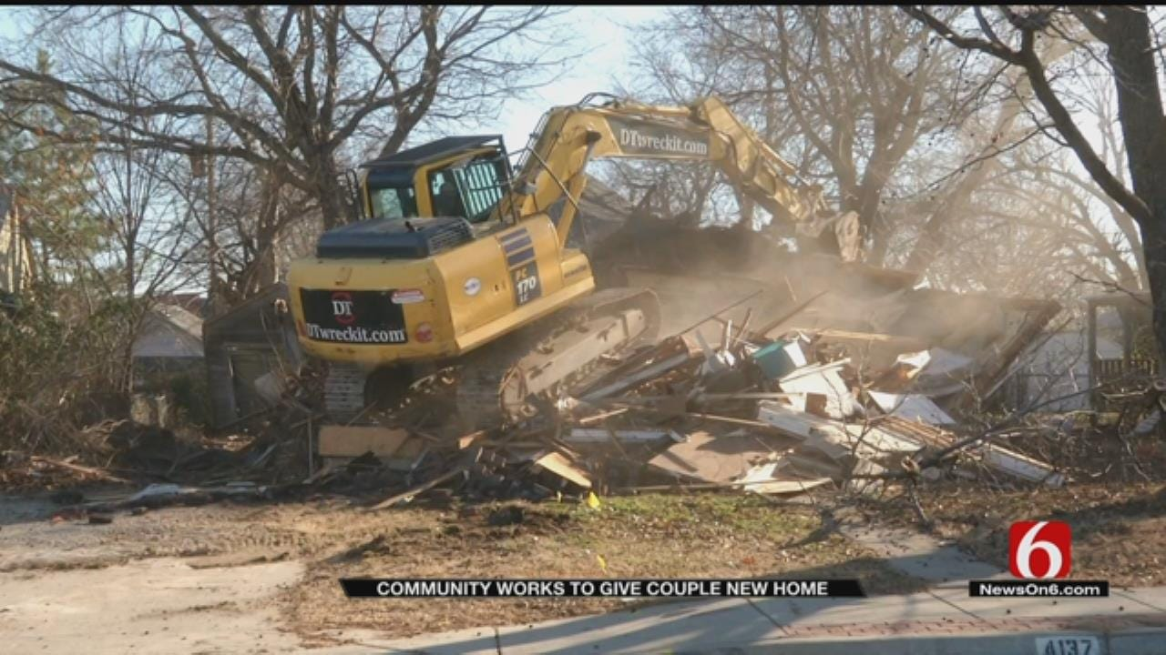 Tulsa Family Receives New Home After Fire