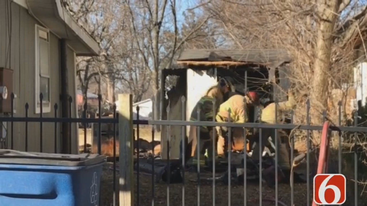 Emory Bryan: 2 People Killed In Tulsa Shed Fire