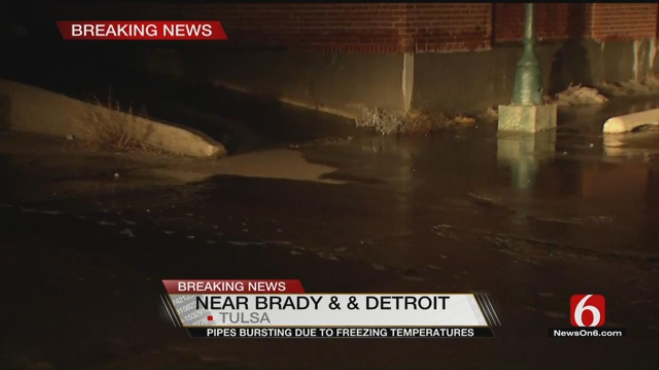 WATCH: Water Flows From Old Spaghetti Warehouse Building
