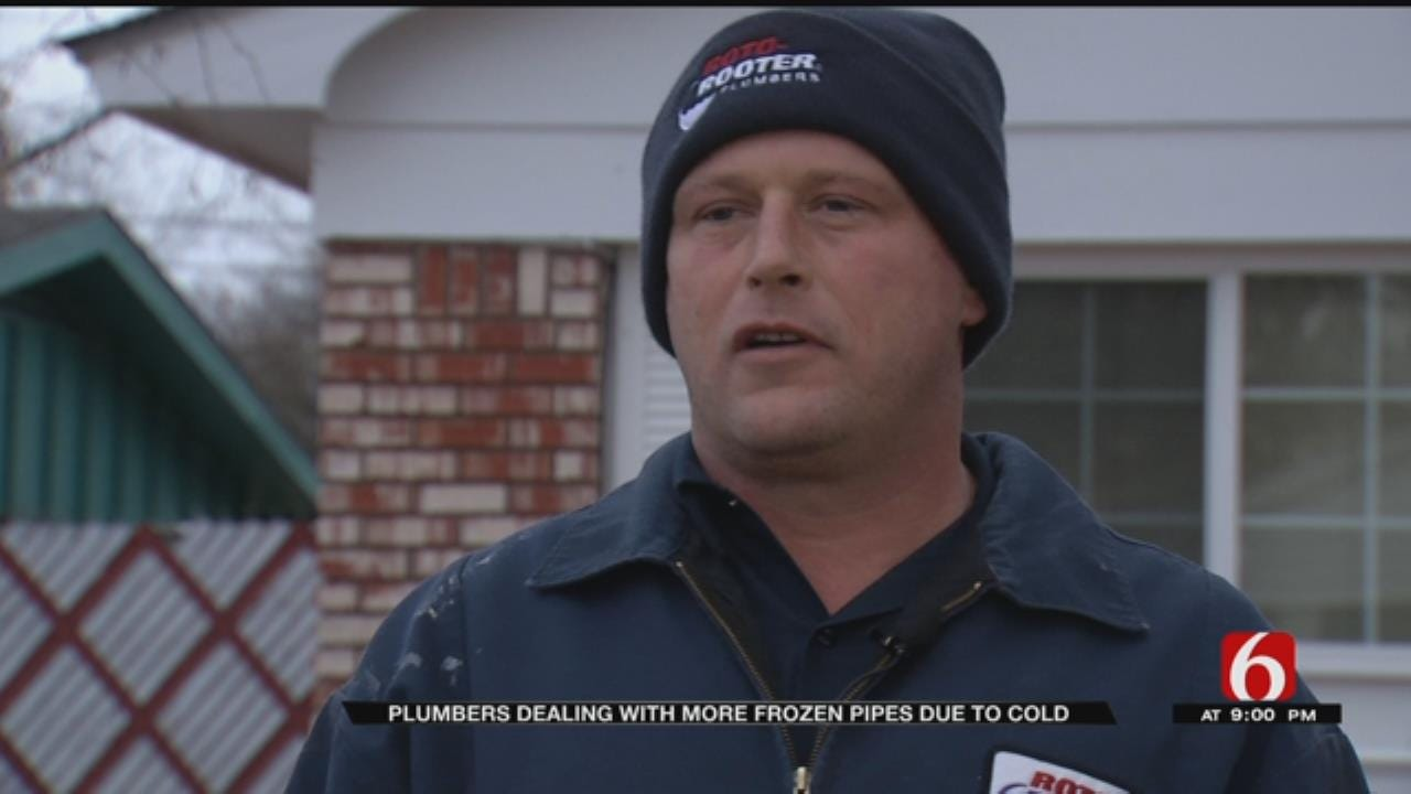 Frozen Pipes Cause Problems Throughout Green Country