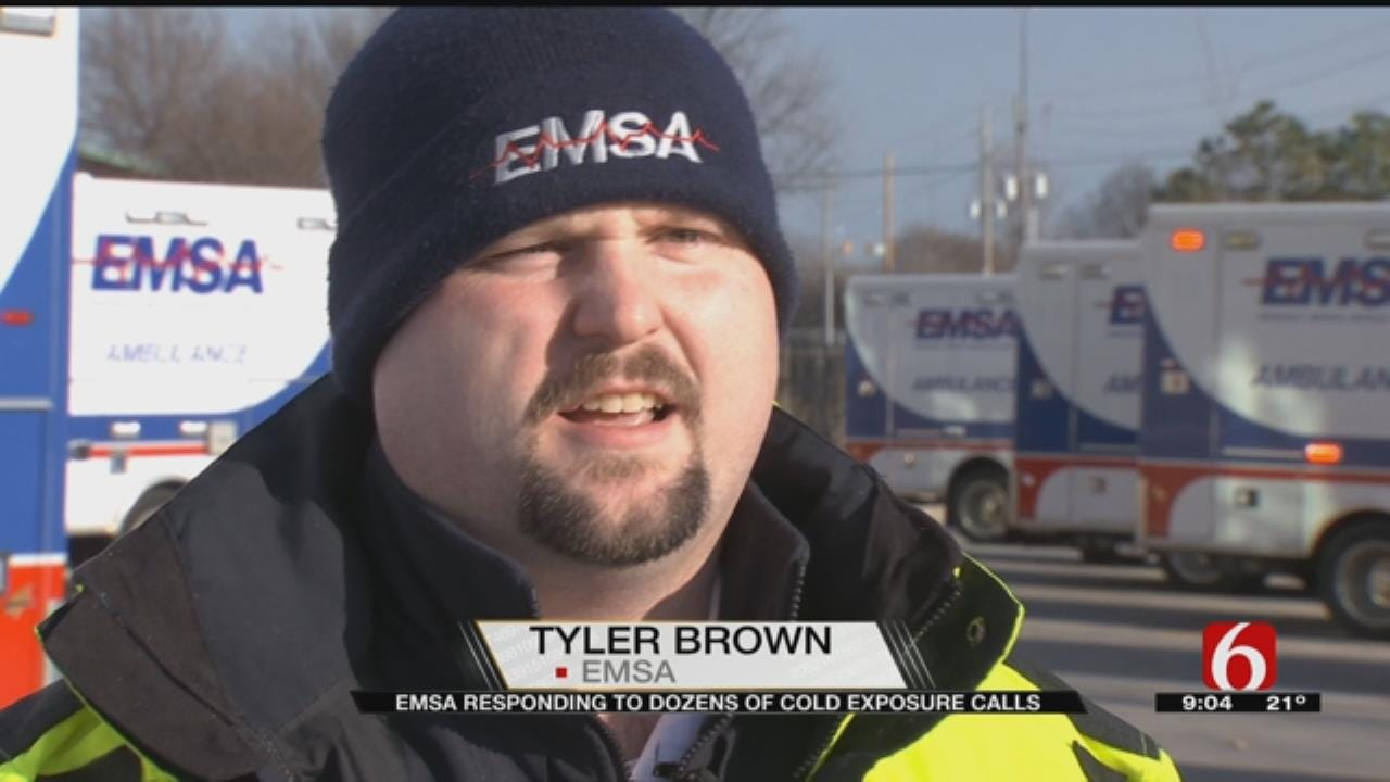 Cold-Related Calls Keeping EMSA Busy