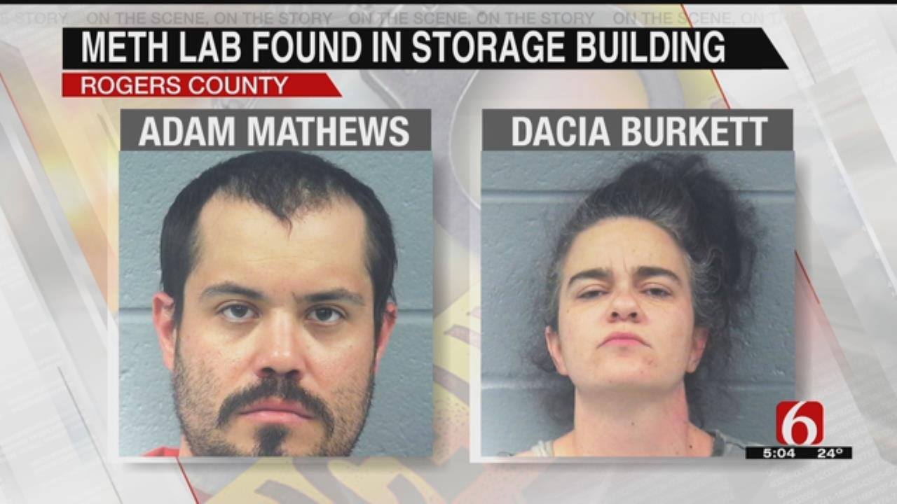 RCSO: Meth Lab Discovered In Repossessed Storage Building