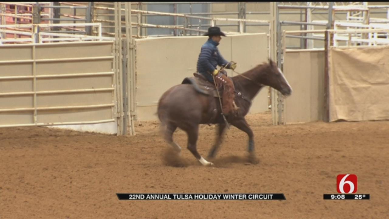 Expo Square Hosts Tulsa Holiday Winter Circuit