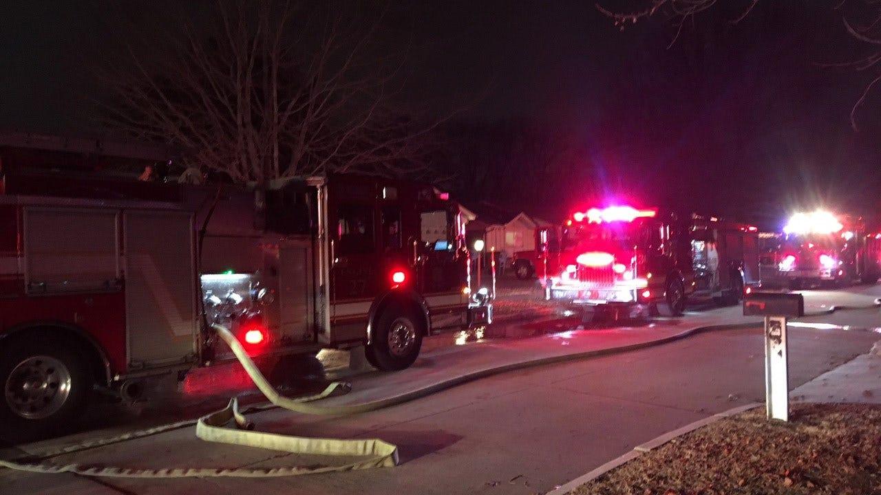 TFD Battling House Fire Near 21st And Garnett