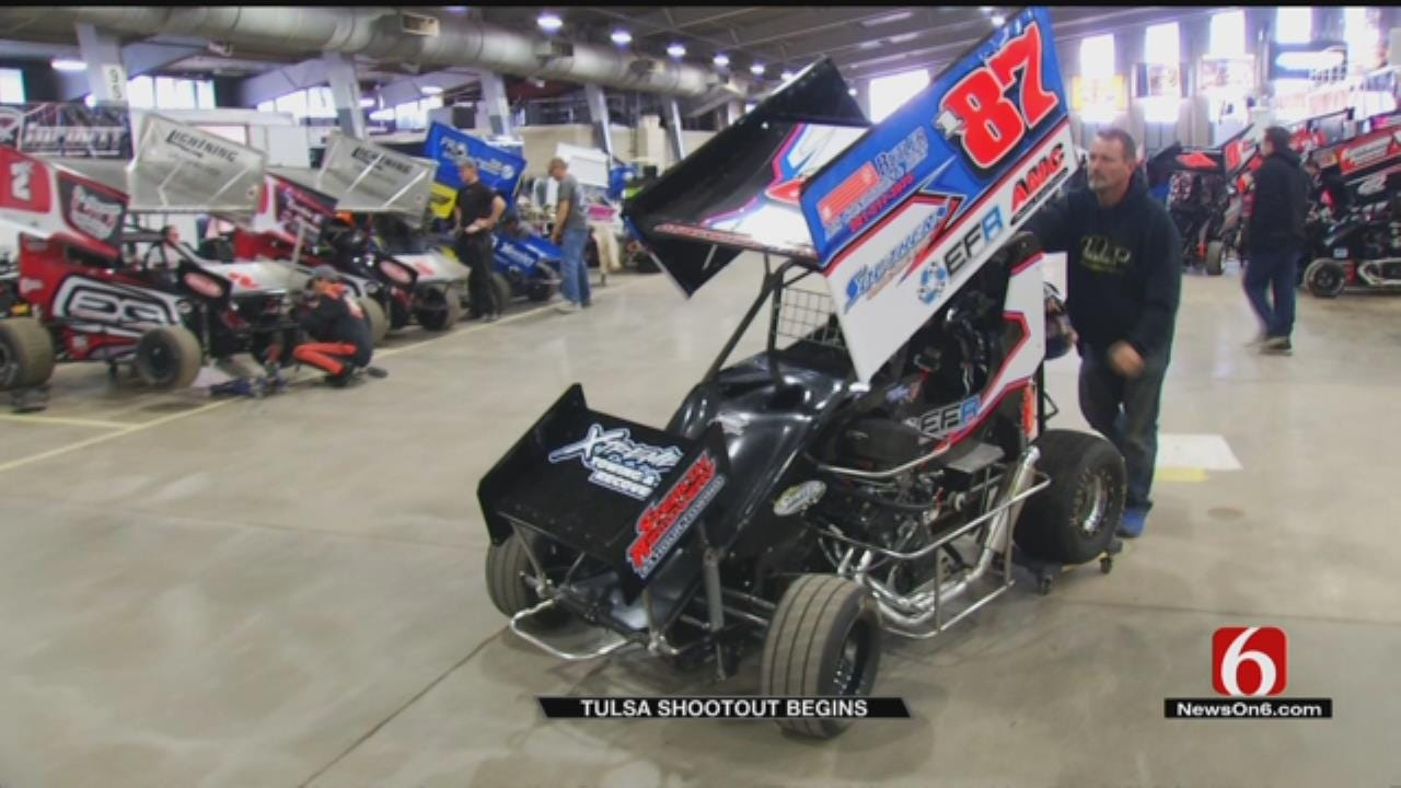 Racers Get Revved Up For Tulsa Shootout