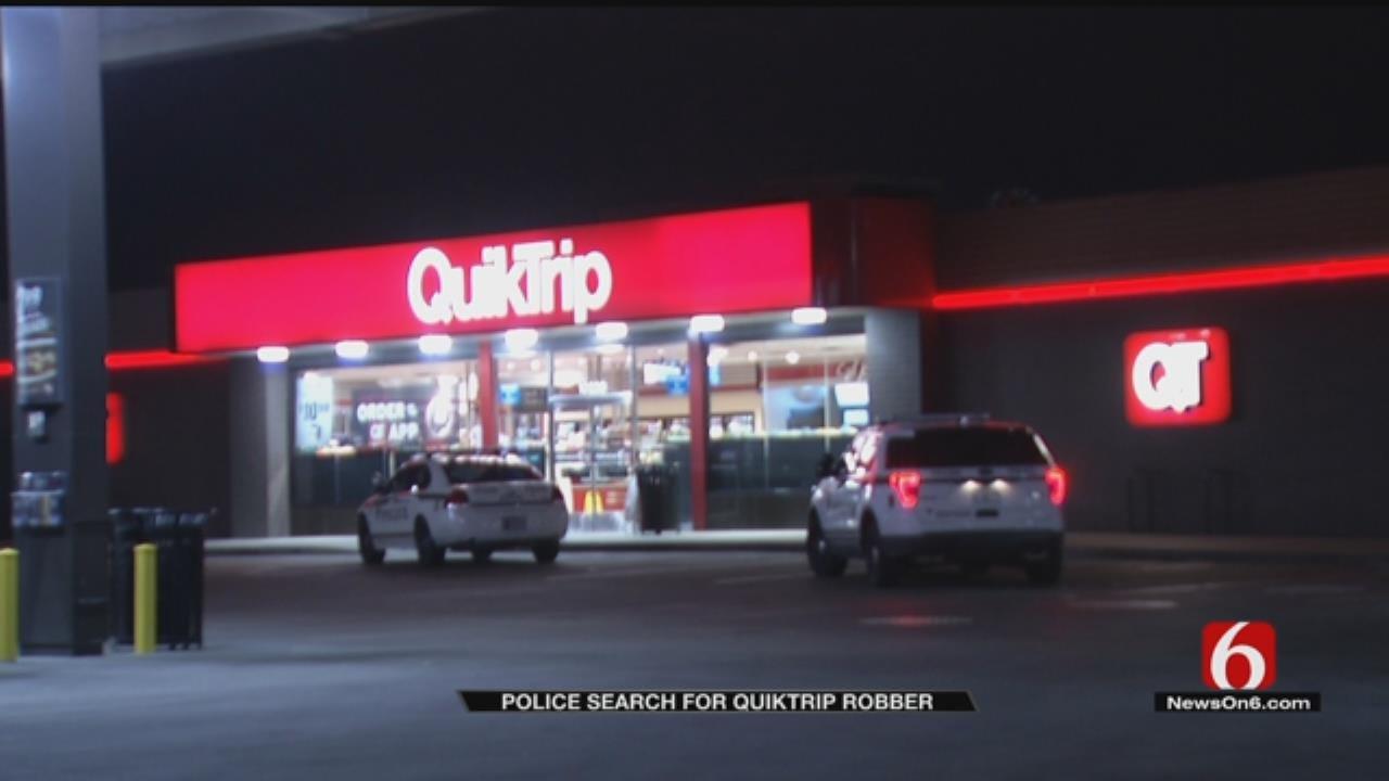 Armed Man Robs Tulsa QuikTrip