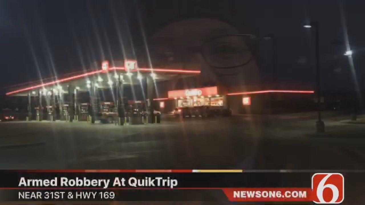 Joseph Holloway: Armed Robbery At Tulsa QuikTrip