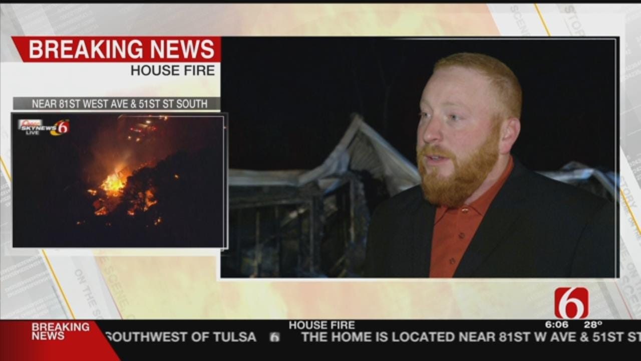 Fire At Skiatook Duplex Leaves 2 People Homeless