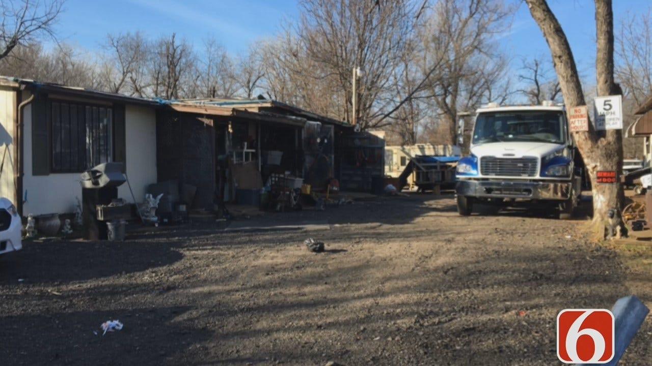 Meagan Farley: Tulsa Police Raid Chop Shop