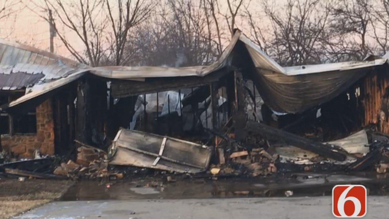 Joseph Holloway Has The Latest On A Skiatook Duplex Fire