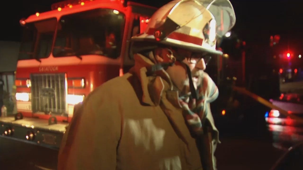 WEB EXTRA: Skiatook Fire Marshall Robert Nail Talks About The Fire