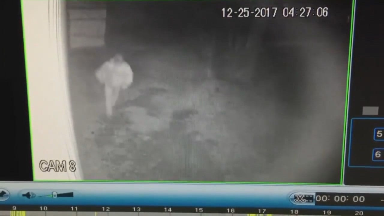 WEB EXTRA: McAlester Gun Store Surveillance Video